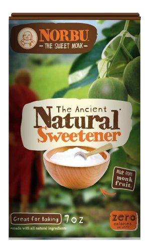 Norbu - Zero Calorie 100% Natural, Monk Fruit Sweetener, 7 Ounce