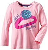 Diesel Baby Girls' Tivvasb Long Sleeve T Shirt
