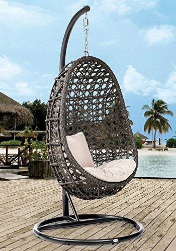 DESTINY Hängesessel »Coco« 1 Stuhl, dunkelgrau jetzt kaufen