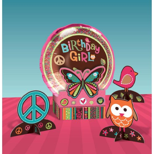 Hippie Chick Centerpiece Kit per kit - 1