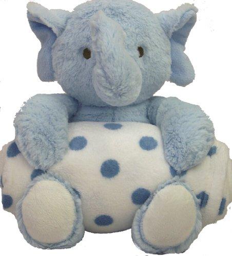Blue Elephant Bedding front-619380