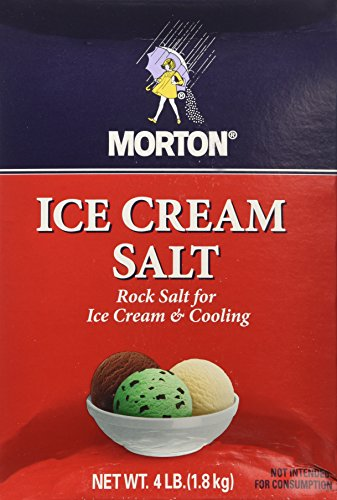 Morton Salt Company Ice Cream, 4 lb (Ice Cream Rock Salt compare prices)