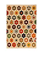 Kilim Carpets by Jalal Alfombra Kilim Star (Beige/Multicolor)