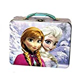 Frozen Anna and Elsa Tin Lunch Box (Pick Your Style) (Sisters)