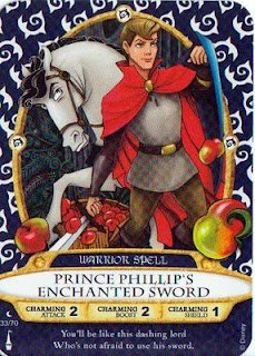 Sorcerers Mask of the Magic Kingdom Game, Walt Disney World - Card #33 - Prince Phillip's Enchanted Sword