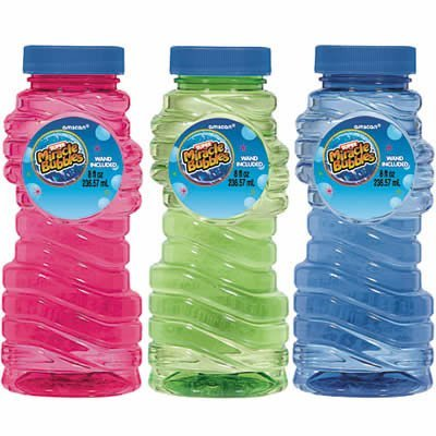 8oz Bubbles Bottle (Assorted) - 1