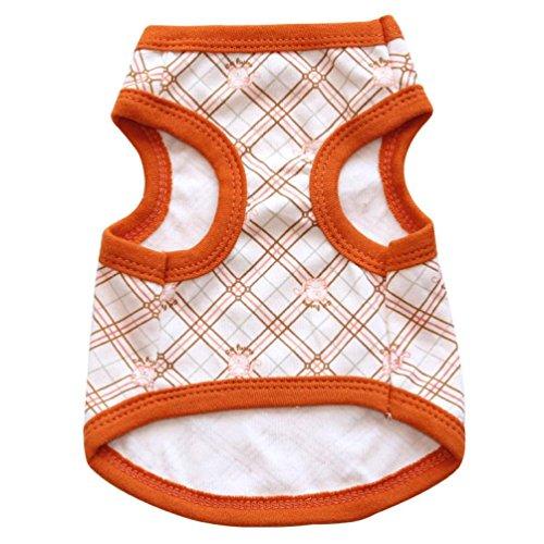Camicia Piccolo Cane, Dog Shirt, Ouneed® Geometrico modellato cotone Jersey Pet Vest (M)