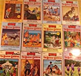 img - for Boxcar Children 12 vol. set: Dinosaur Mystery, Surprise Island, Schoolhouse Mystery, Mystery Ranch, Soccer Mystery, Hidden Beach, Haunted Cabin, Dog Show Mystery, Castle Mystery, Bicycle Mystery, Wild Ponies, Mystery Cruise book / textbook / text book