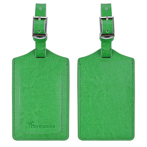 travelambo-genuine-leather-luggage-bag-tags-2-pieces-set-green