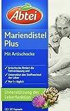 Abtei 43431 Mariendistelöl Plus Artischocke mit Vitamin E...