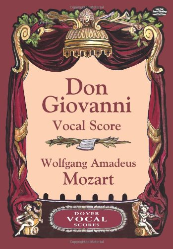 Don Giovanni Vocal Score (Dover Opera and Choral Scores)