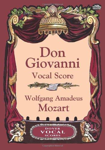 Don Giovanni Vocal Score (Dover Vocal Scores)