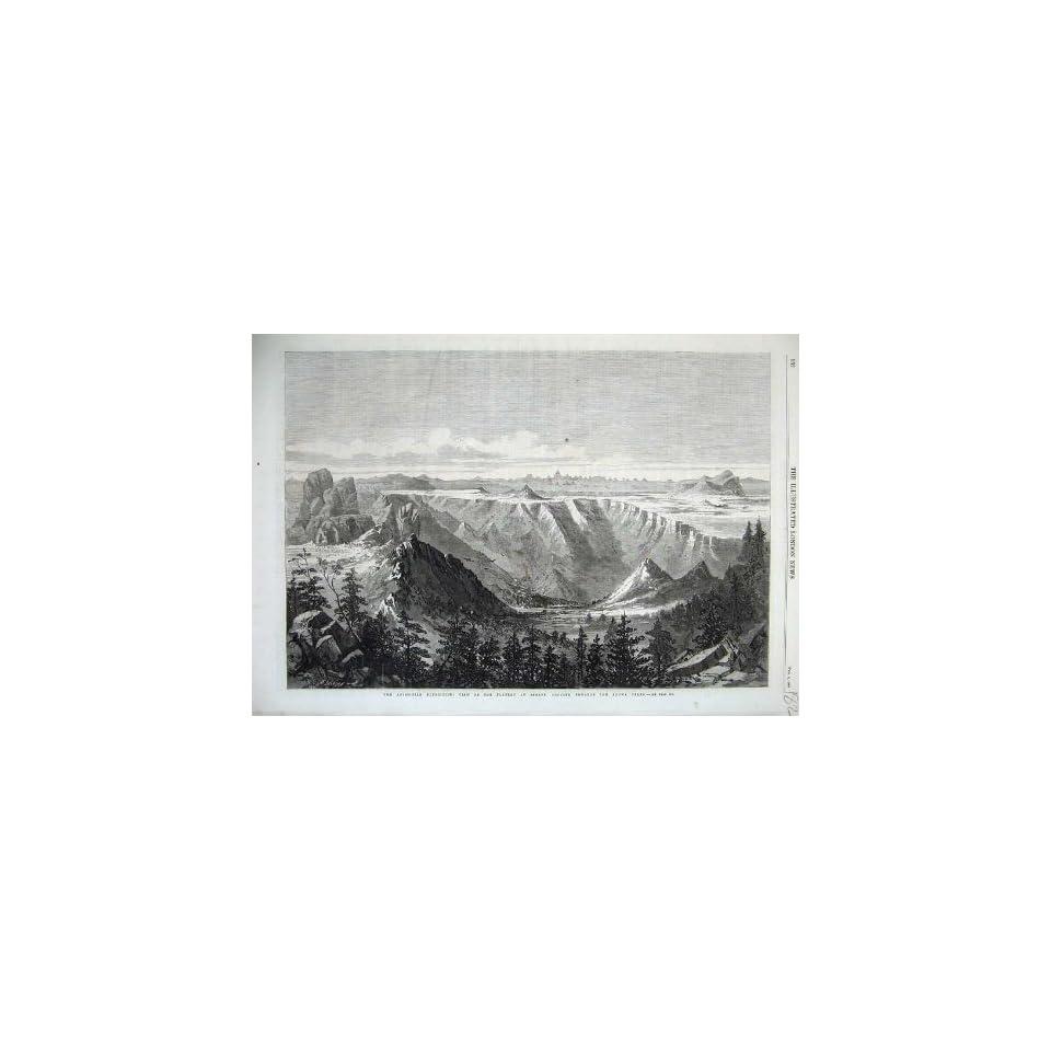 1868 Abyssinian Plateau Senafe Adowa Peaks Mountains on PopScreen 020da9d21
