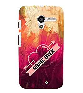 Game Over Cute Fashion 3D Hard Polycarbonate Designer Back Case Cover for Motorola Moto X :: Motorola Moto XT1052 XT1058 XT1053 XT1056 XT1060 XT1055