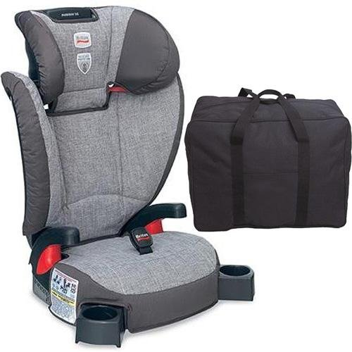 Britax Parkway Sg - Belt Positioning Booster Seat With A Car Seat Travel Bag - Gridline front-626084