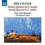 Bruckner: Streichquintett F-dur / Streichquartett c-moll title=
