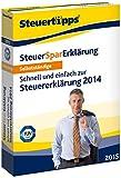 Software - Steuer-Spar-Erkl�rung 2015 f�r Selbstst�ndige (f�r Steuerjahr 2014)