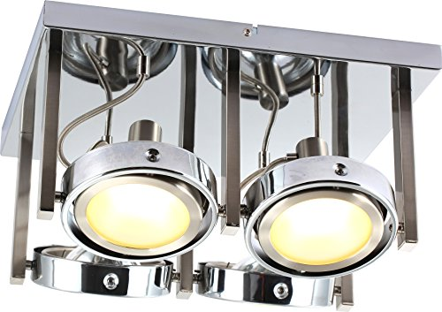 LED-Deckenleuchte 4-flammig Baroni