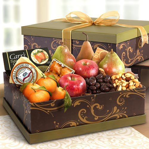 Sonoma Deluxe Fruit and Cheese Gift Box