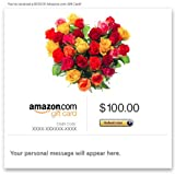 Amazon Gift Card - Email - Flower Heart