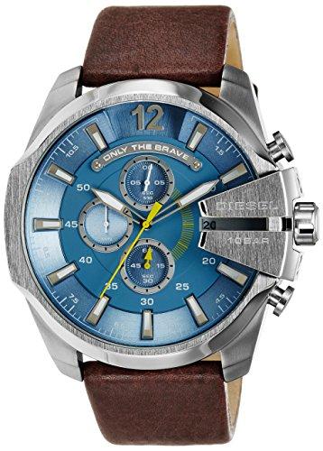 b9f627555119 Diesel DZ4281 - Reloj cronógrafo de cuarzo para hombre con correa de piel