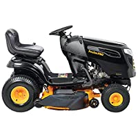 """Poulan Pro 960420188 Briggs and Stratton 20 hp Pedal Control Automatic Drive Riding Mower, 46"""" 46000 Outdoor Power Issue - Over LTL Weight Max from Poulan Pro"""
