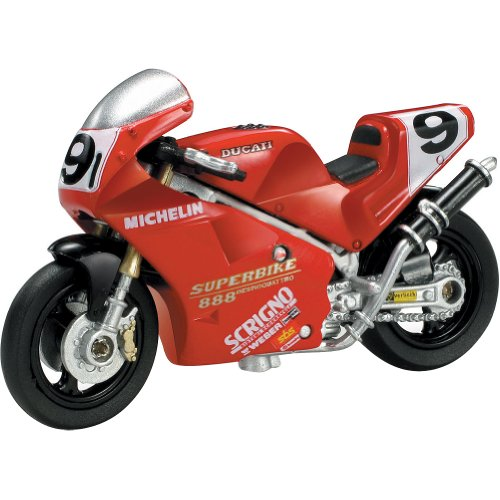 New Ray Ducati 1992 Falappa 888 SBK Replica Motorcycle Toy - 1:32 Scale