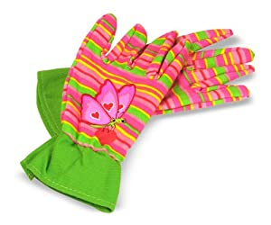Melissa doug bella butterfly gardening for Gardening gloves amazon
