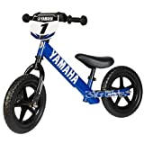 Strider 12 Sport No-Pedal Balance Bike, Yamaha, For 18 mos.- 5 years, Blue