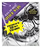 Amscan International 3.53oz Spider Web (Black/ White)