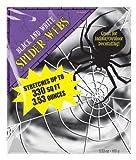 Amscan International 3.53oz Spider Web (Black/ White)