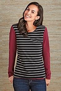 Fair Indigo Long Sleeve Reversible Organic Fair Trade T-shirt