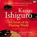 An Artist of the Floating World (       UNABRIDGED) by Kazuo Ishiguro Narrated by David Case
