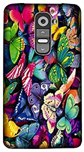 Timpax Protective Hard Back Case Cover Full access to all features. ports of the device including microphone, speaker, camera and all buttons. Printed Design : Butterflies in the field.100% Compatible with LG G3 Stylus ( D690N )