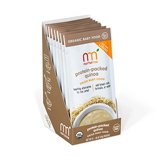 NurturMe NurturMeals, Dried Organic Food Pouches, Protein-Packed Quinoa, 8 Count (Sodium Free Foods compare prices)
