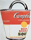 """Soup Can Bag by Andy Warhol 30""""x23.5"""" Art Print Poster Vintage"""
