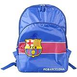 FC Barcelona Childrens Boys Official Stripe Football Crest Backpack/Rucksack