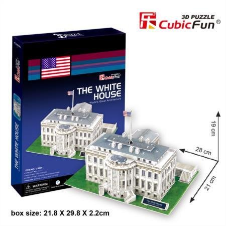 Cubic Fun C060H White House 3d Puzzle
