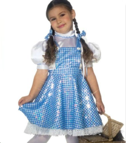 Wizard Of Oz Dorothy Ch Lg Web Kids Girls Costume