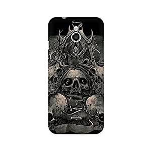 Mobicture Skull Abstract Premium Printed Case For InFocus M2