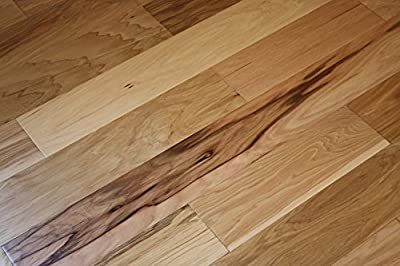 Elk Mountain Hickory Natural 5 x 3/8 Hand Scraped Engineered Hardwood Flooring FH231 SAMPLE