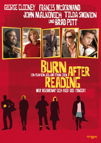 Burn after Reading - Wer verbrennt sich hier die Finger? [Alemania] [DVD]