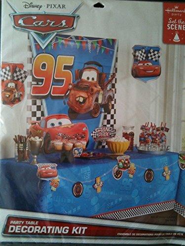 Disney Pixar Cars Party Table Decorating Kit - 1