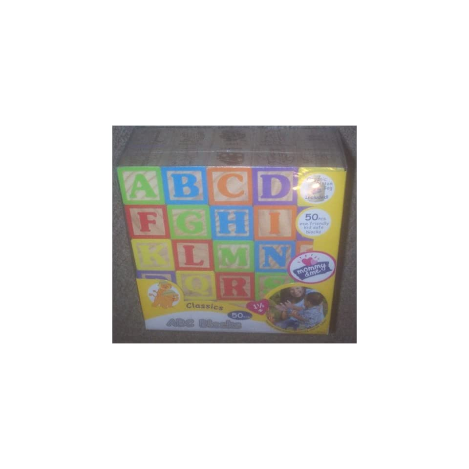 Mommy and Me Classic ABC Number and Animals Blocks