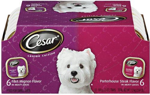 Cesar Canine Cuisine Variety Pack (Filet Mignon,