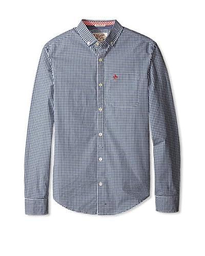 Original Penguin Men's Core Gingham Long Sleeve Shirt
