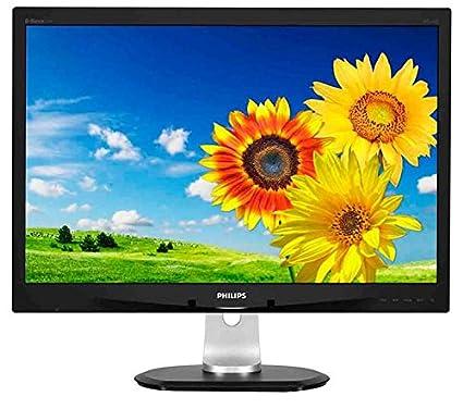 Philips - Brilliance P-line 240P4QPYEB - Écran LED - 24'' - 1920 x 1200 - IPS - 300 cd m2 - 1000:1 - 5 ms - DVI-D, VGA, DisplayPort - haut-parleurs - noir texturé