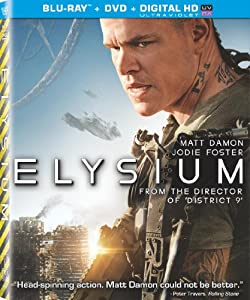 Elysium (Two Disc Combo: Blu-ray / DVD + UltraViolet Digital Copy) from Sony Pictures Home Entertainment