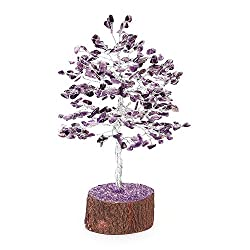 Divine Soul Retreat Amethyst Crystal Tree (Purple )