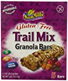 Sam Mills Gluten Free Trail Mix Granola Bars, 1 oz. Bars, 5 Count
